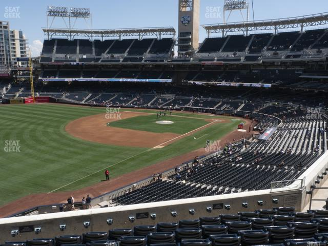 Petco Park Section 220 view