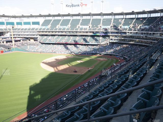 Progressive Field Section 478 view