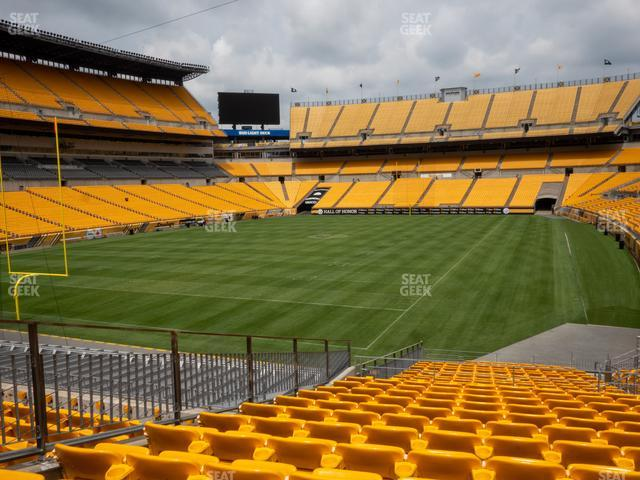 Heinz Field Section 101 view