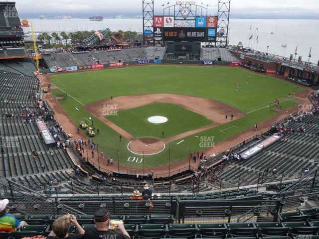 Oracle Park Section 314 view