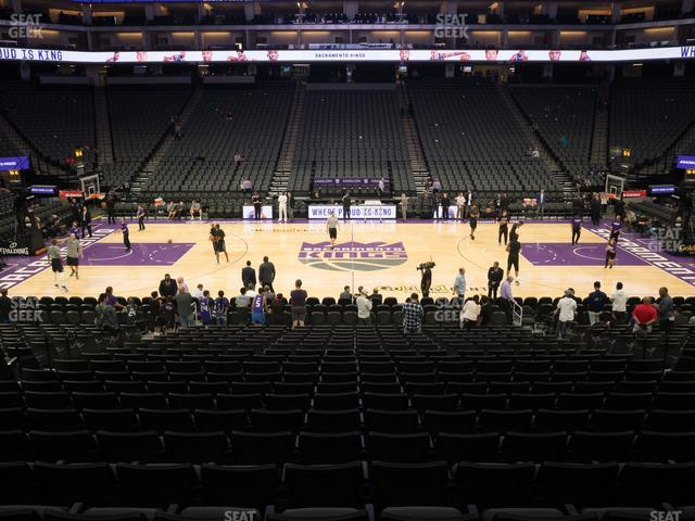 Golden 1 Center Section 120 view