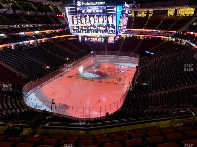 Prudential Center Section 105 view