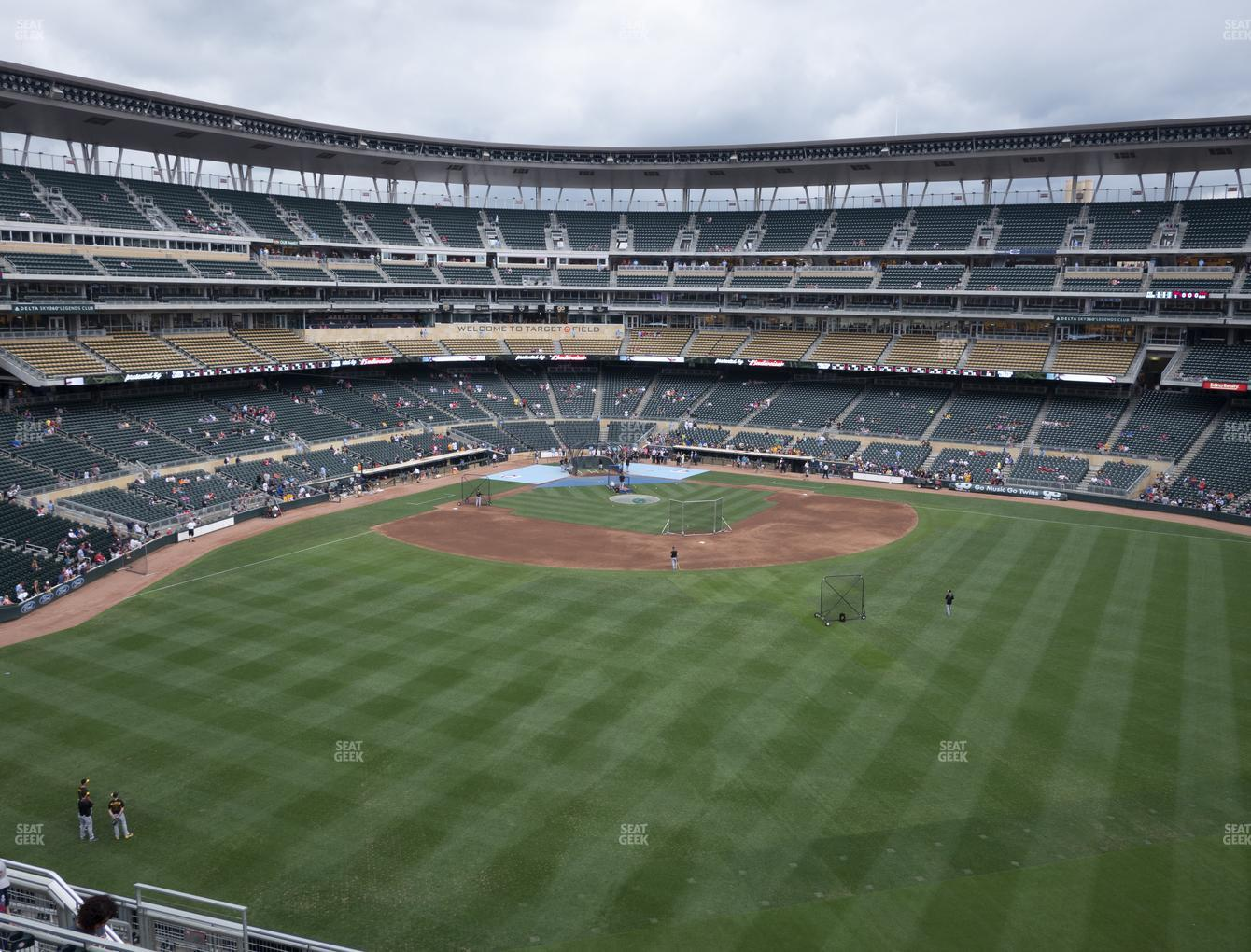 Minnesota Twins at Target Field Section 238 View