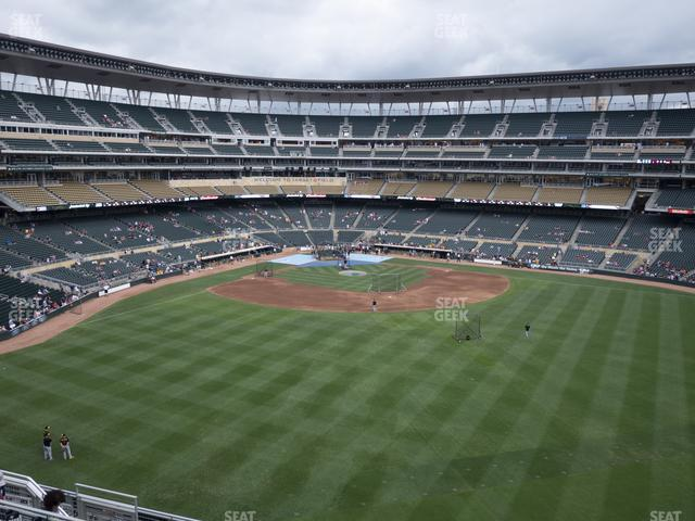Target Field Section 238 view