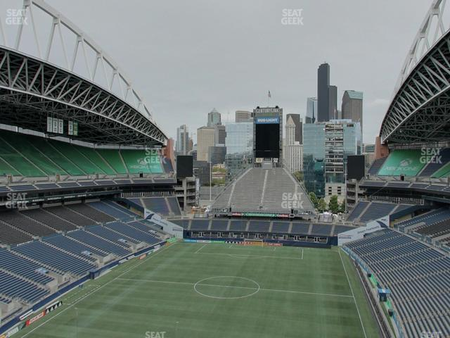 CenturyLink Field Upper 320 view