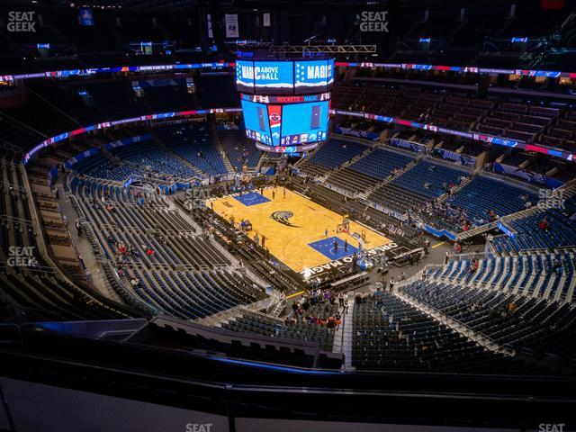 Amway Center Section 204 view