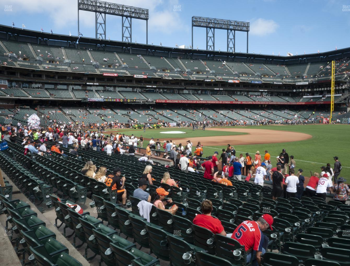 San Francisco Giants at Oracle Park Section 103 View