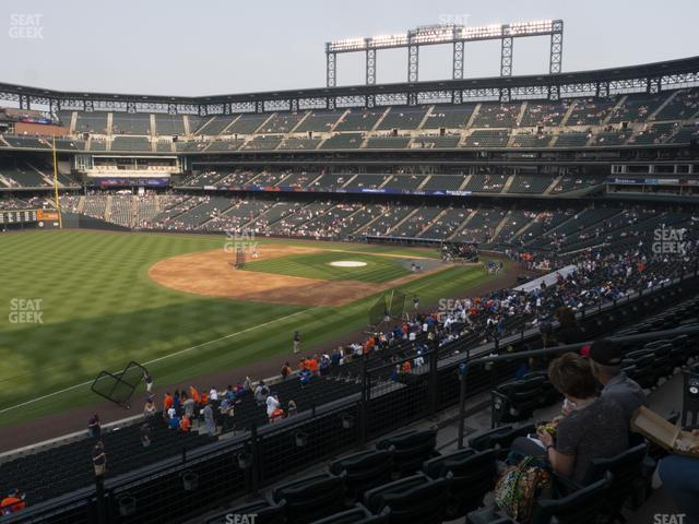 Coors Field Section 246 view