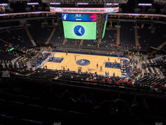 Target Center Section 230 view