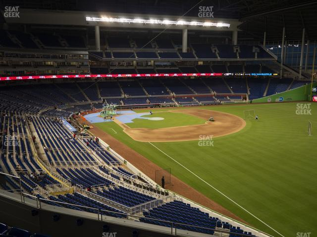 Marlins Park Section 202 view