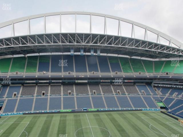 CenturyLink Field Upper 336 view