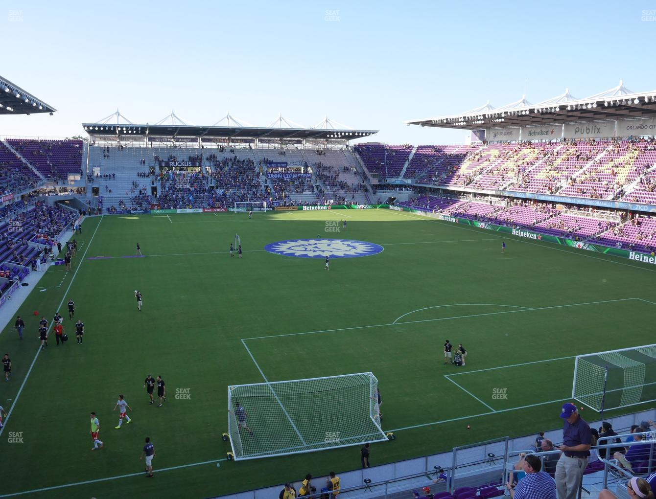 Orlando City SC at Exploria Stadium Section 106 View