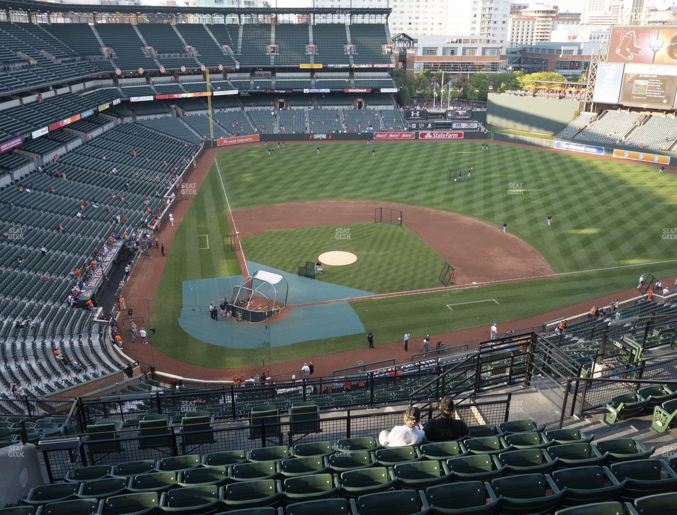 Baltimore Orioles at Oriole Park at Camden Yards Section 328 View