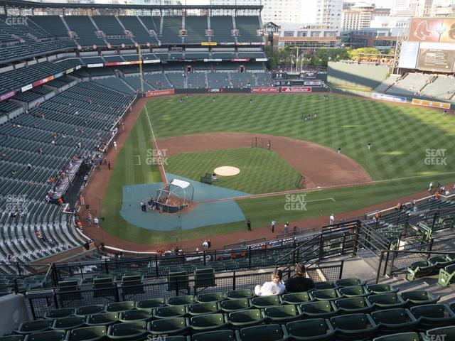 Oriole Park at Camden Yards Section 328 view