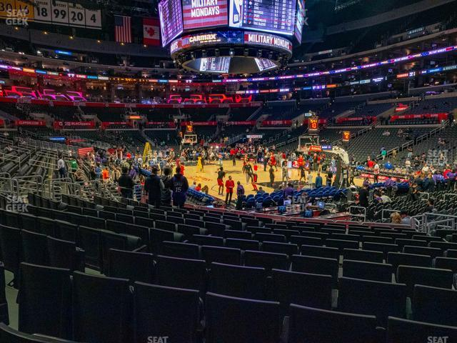 Staples Center Section 108 view