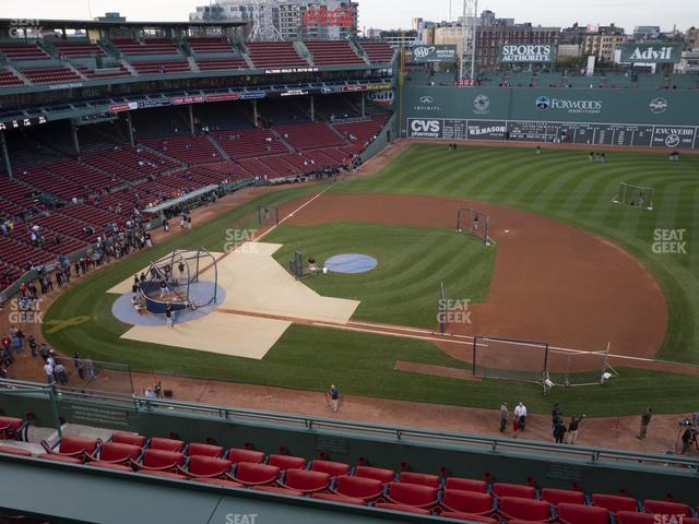 Fenway Park Pavilion Box 7 view