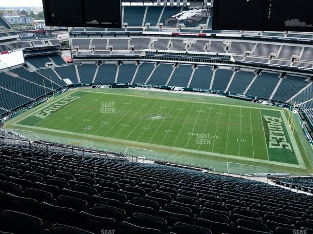 Lincoln Financial Field Section 227 view