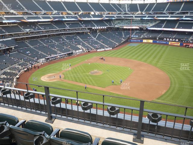 Citi Field Section 406 view