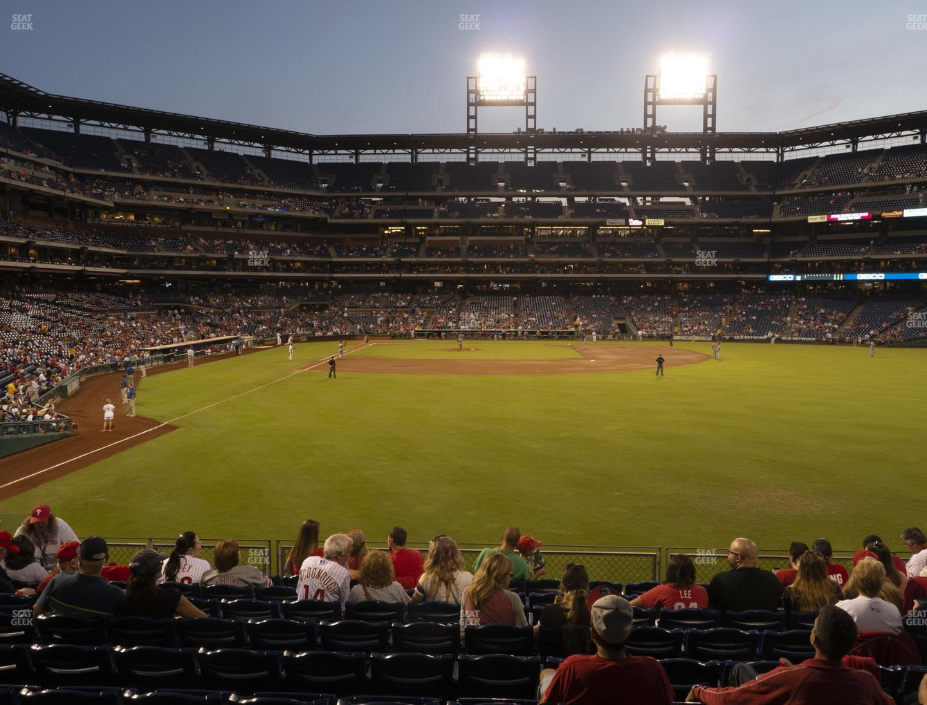 Philadelphia Phillies at Citizens Bank Park Section 105 View