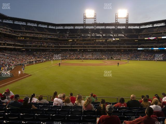 Citizens Bank Park Section 105 view