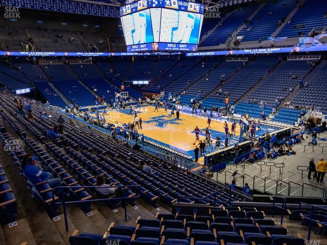 Rupp Arena Section 44 view