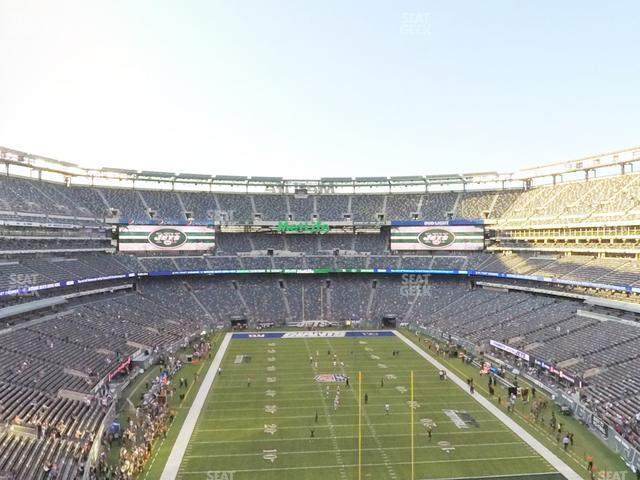 MetLife Stadium Section 227 B view
