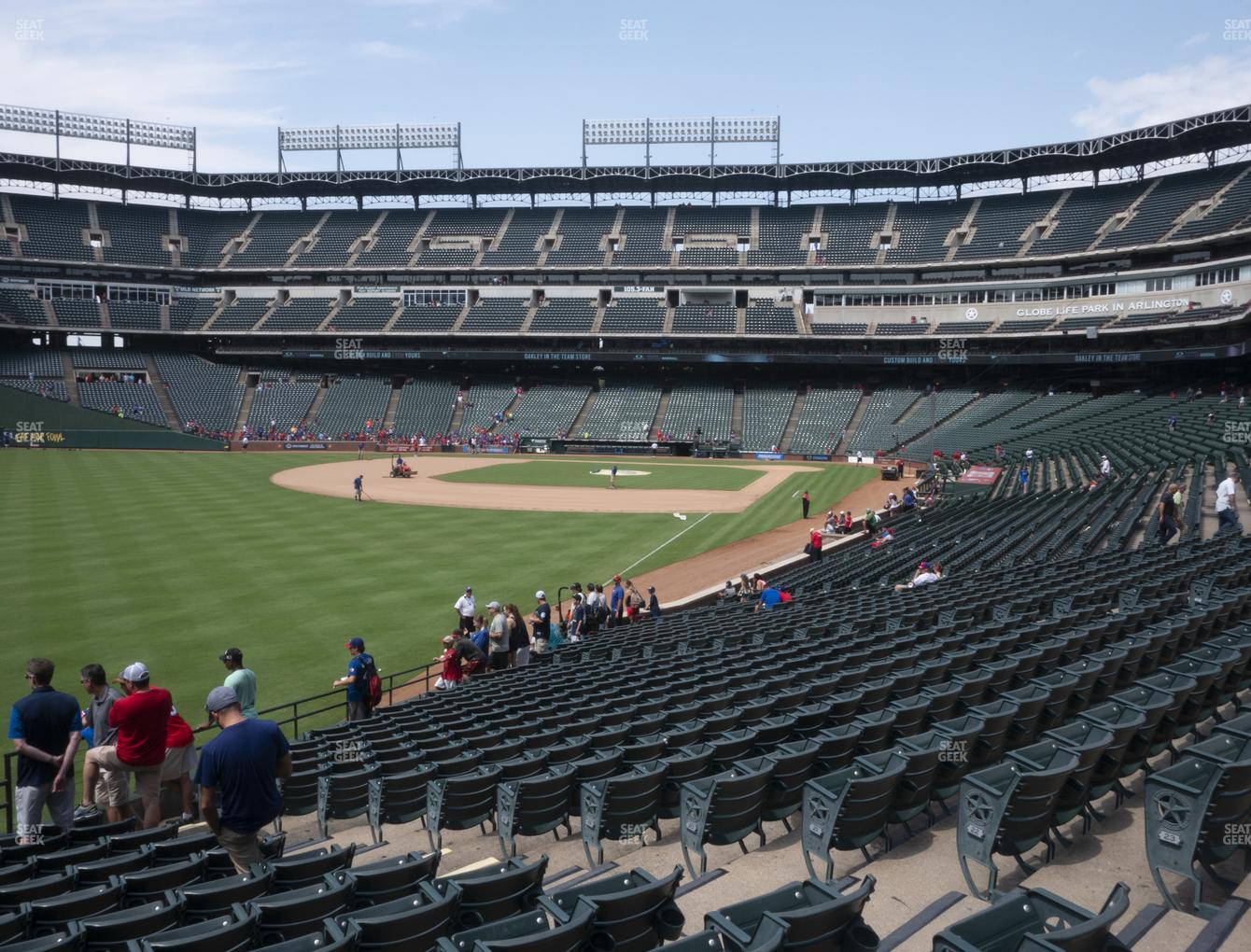 Concert at Globe Life Park Section 10 View