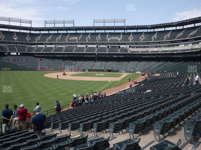 Globe Life Park Section 10 view