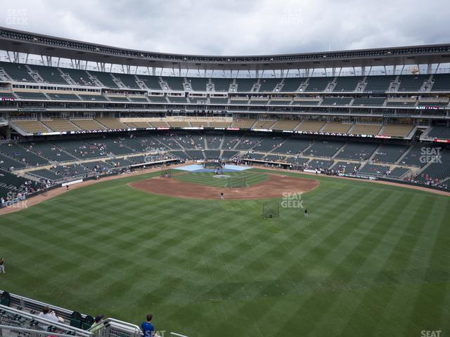 Target Field Section 237 view
