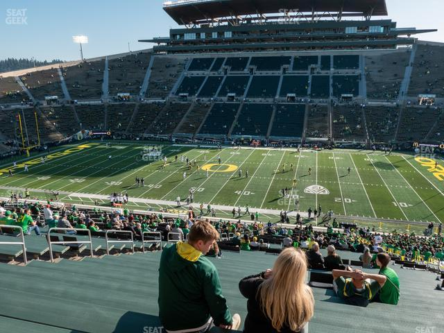 Autzen Stadium SRO 9 view