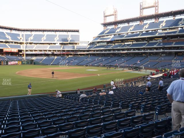 Citizens Bank Park Section 135 view