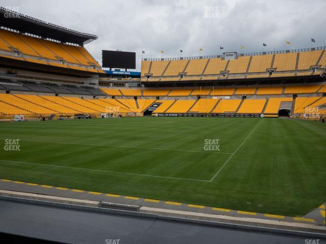 Heinz Field Section FS 5 view