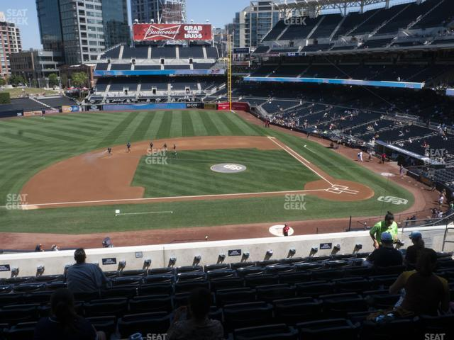 Petco Park Section 208 view