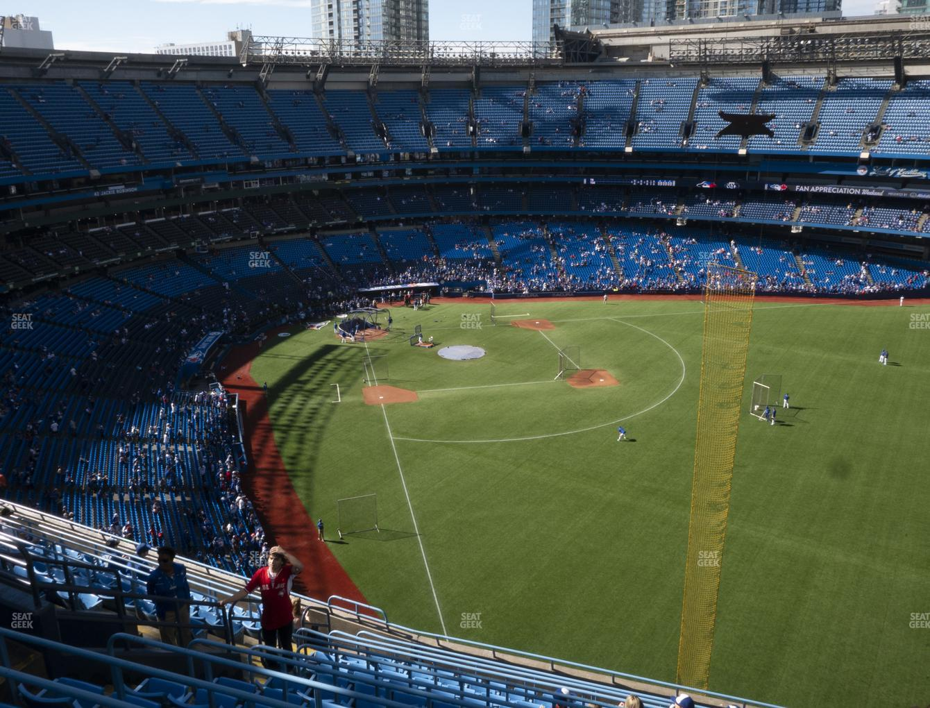 Toronto Blue Jays at Rogers Centre Section 509 R View