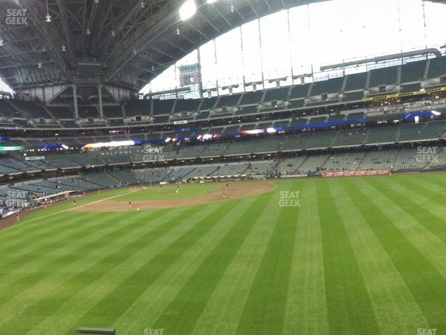 Miller Park Section 201 view
