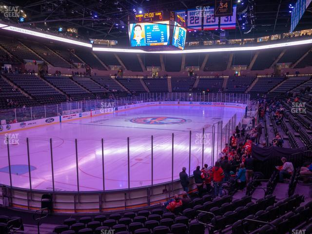 Nassau Veterans Memorial Coliseum Section 122 view
