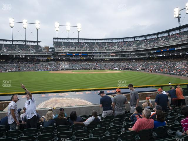 Comerica Park Section 149 view