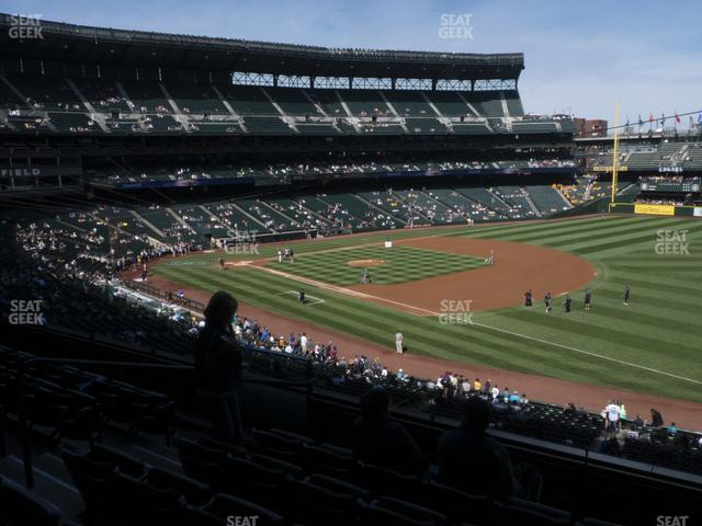T-Mobile Park Section 215 view