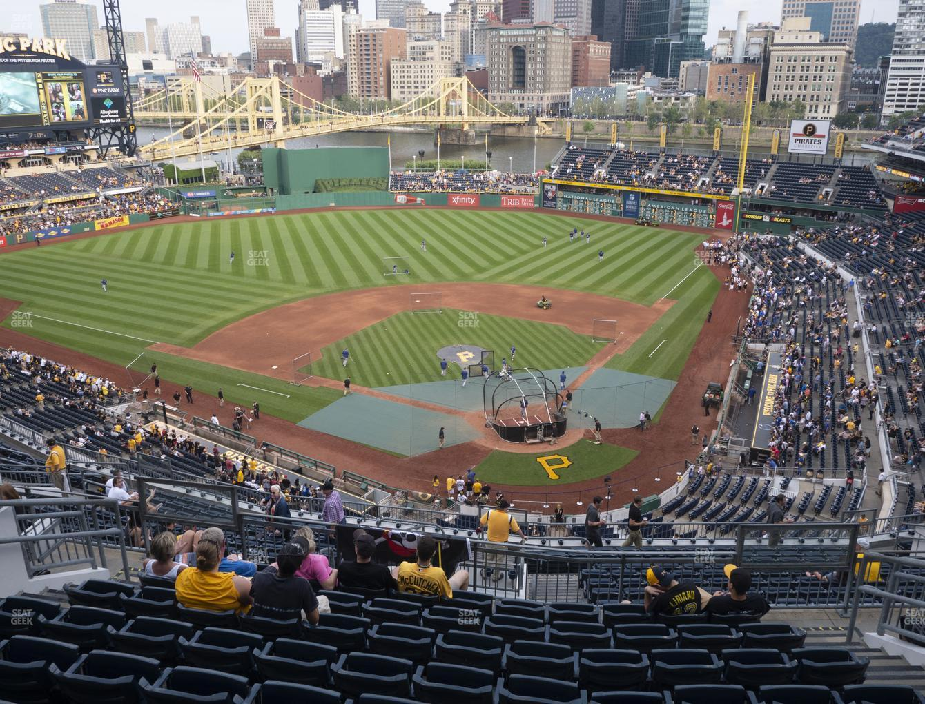 Pittsburgh Pirates at PNC Park Section 318 View