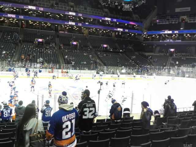 Barclays Center Section 25 view
