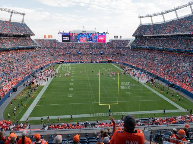 Empower Field at Mile High Section 324 view