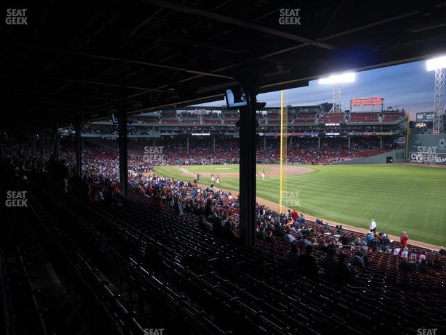 Fenway Park Outfield Grandstand 5 view