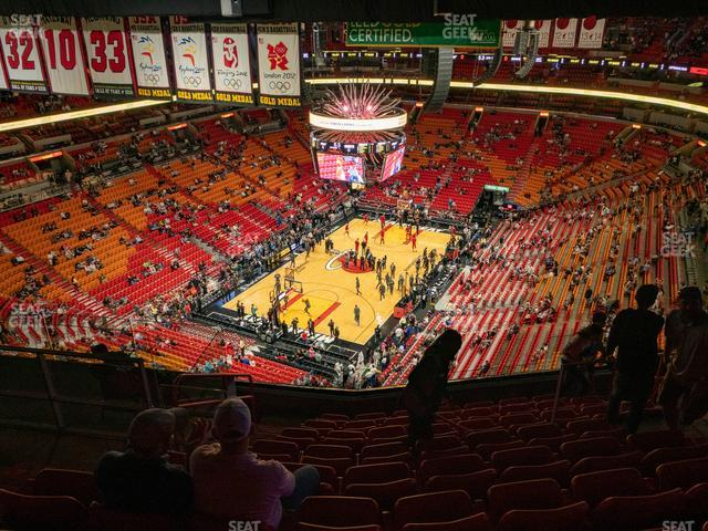 American Airlines Arena Section 403 view