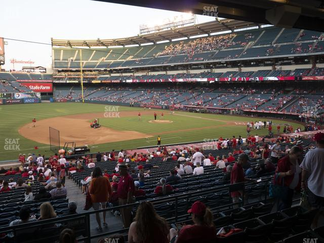 Angel Stadium of Anaheim Section 209 view