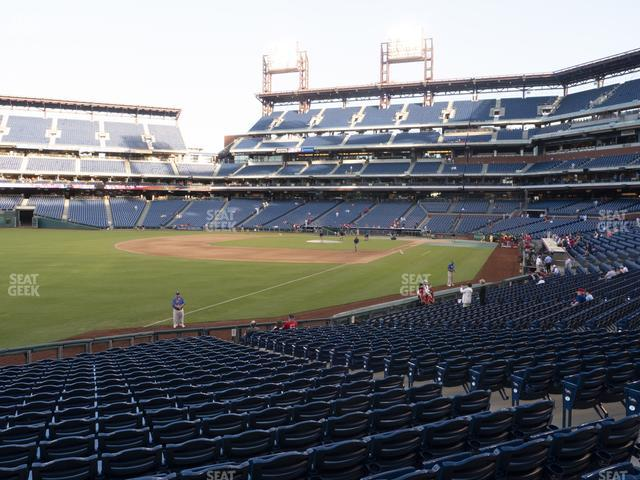 Citizens Bank Park Section 138 view
