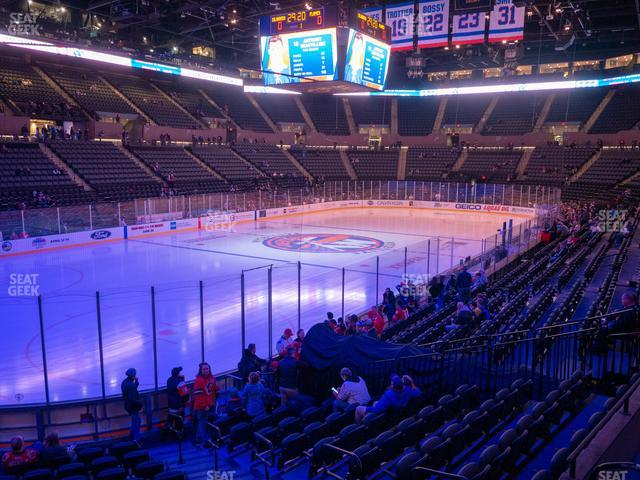 Nassau Veterans Memorial Coliseum Section 121 view