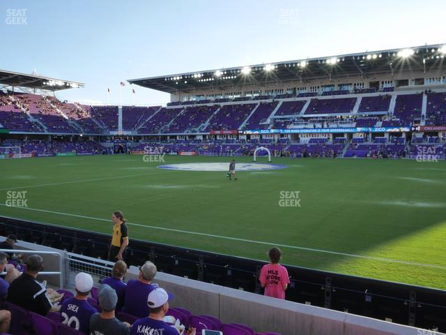 Exploria Stadium Section 32 view