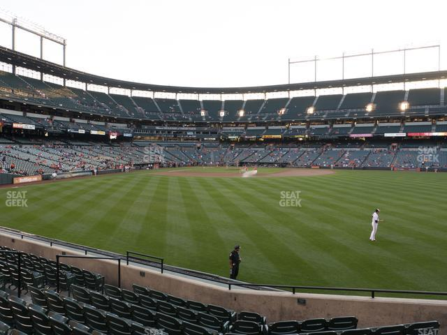 Oriole Park at Camden Yards Section 96 view