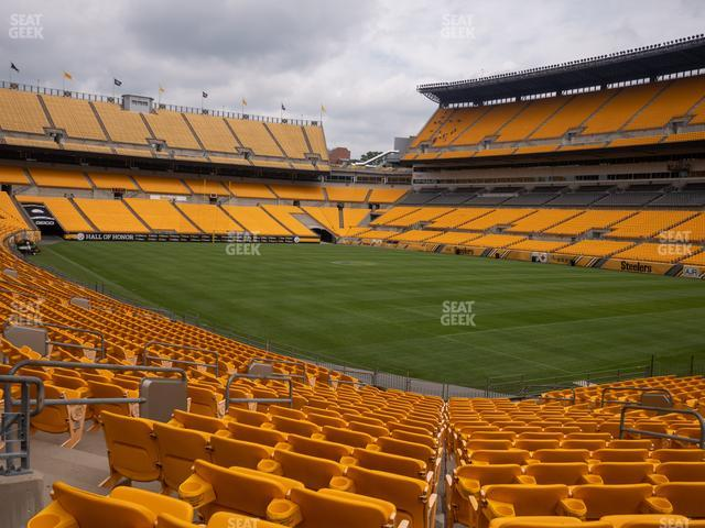 Heinz Field Section 142 view