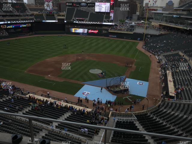 Target Field Section 218 view